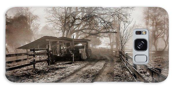 Farm Road Late Autumnl. Galaxy Case