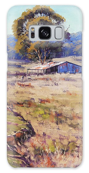 Rural Scenes Galaxy S8 Case - Farm Shed Pyramul by Graham Gercken