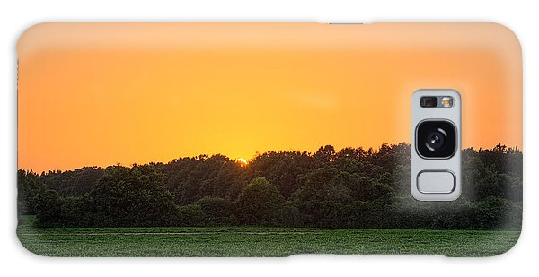 Farm Sunset Galaxy Case
