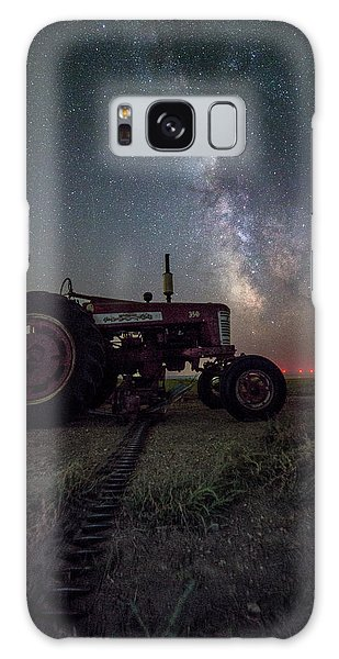 Galaxy Case featuring the photograph Farmall by Aaron J Groen