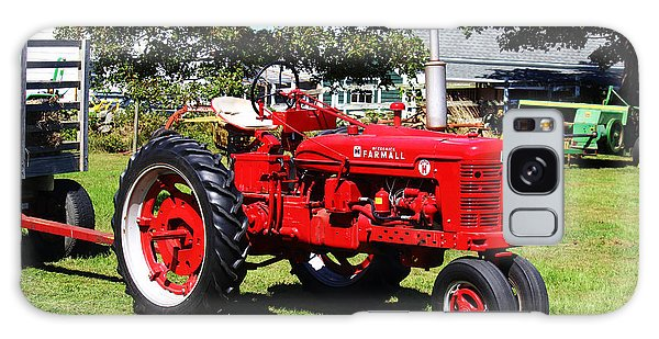 Farmall At The Country Fair Galaxy Case
