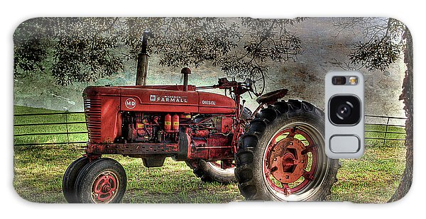 Farmall In The Field Galaxy Case