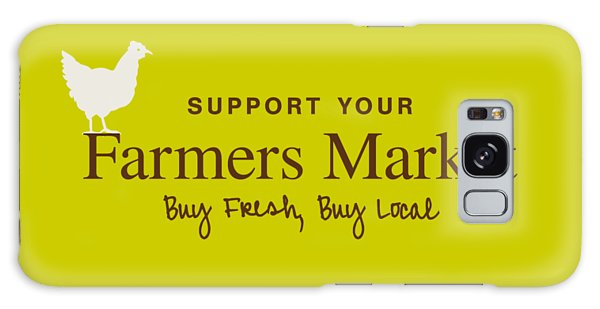 Farmers Market Galaxy Case
