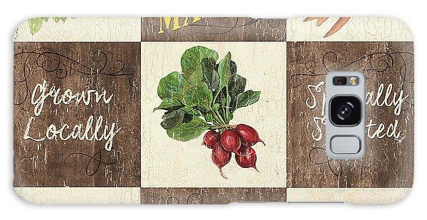 Farmer's Market Patch Galaxy Case by Debbie DeWitt