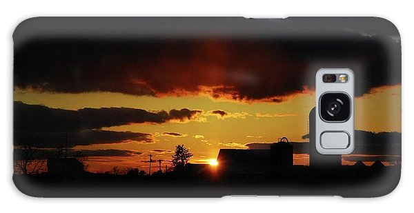 Farmer's Sunset Galaxy Case