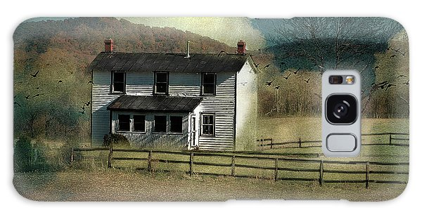 Farmhouse Galaxy Case by Kathy Russell