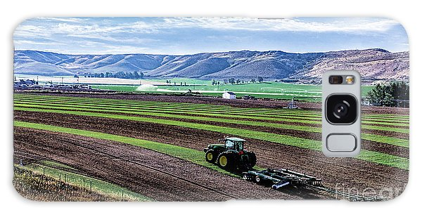 Farming In Pardise Agriculture Art By Kaylyn Franks Galaxy Case