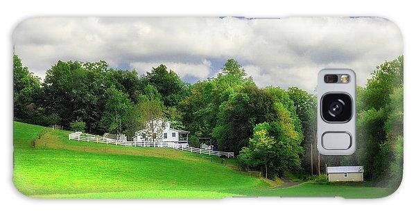 Pasture Galaxy Case - Farmland by Tom Mc Nemar
