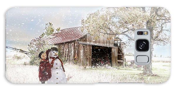Farmstyle Snowman Galaxy Case