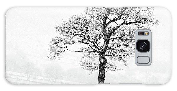 Sheep Galaxy Case - Farndale Winter by Janet Burdon