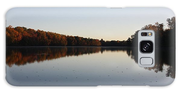 Galaxy Case featuring the photograph Farrington Lake Autumn by Vadim Levin