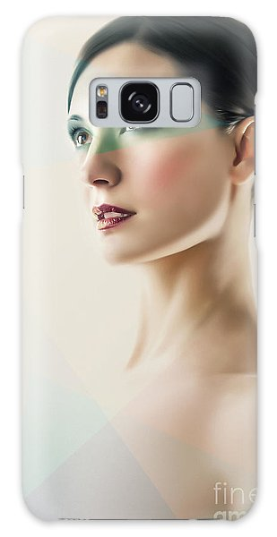 Galaxy Case featuring the photograph Fashion Beauty Portrait by Dimitar Hristov