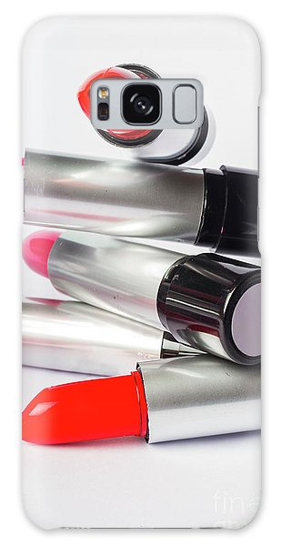 Fashion Model Lipstick Galaxy Case