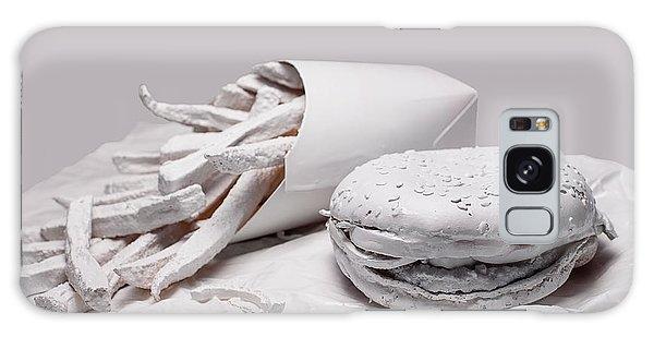 Potato Galaxy Case - Fast Food - Burger And Fries by Tom Mc Nemar
