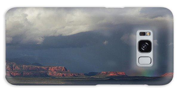Fat Ground Rainbow, Red Rocks Sedona Galaxy Case