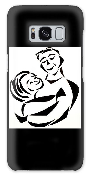 Father And Child Galaxy Case by Delin Colon