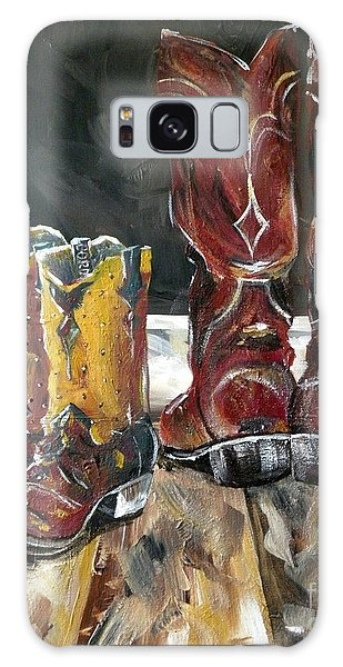 Father And Son Boots Galaxy Case