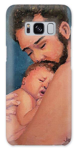 Fatherhood Galaxy Case by Janet Garcia