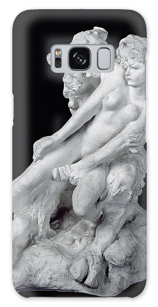 Minotaur Galaxy Case - Faun And Nymph by Auguste Rodin
