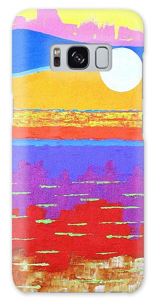 Fauvist Sunset Galaxy Case