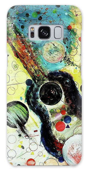 Galaxy Case featuring the mixed media Favorites by Michael Lucarelli