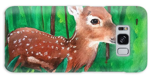 Fawn Galaxy Case by Ellen Canfield