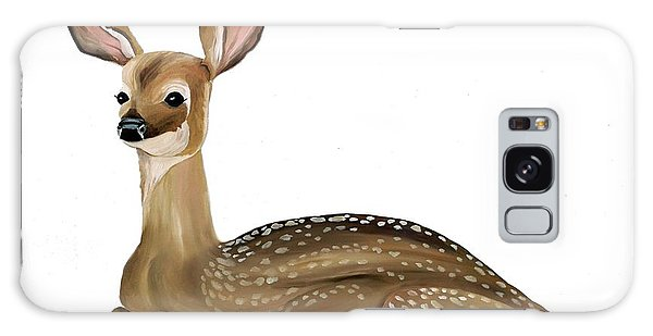 Fawn With No Background Galaxy Case