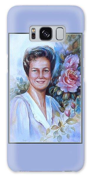 Faye Galaxy Case by Patricia Schneider Mitchell