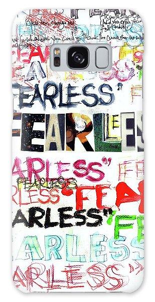 Fearless Galaxy Case by Carolyn Weltman
