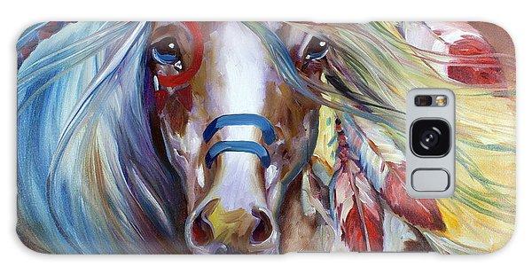 Fearless Indian War Horse Galaxy Case