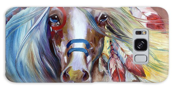 Fearless Indian War Horse Galaxy Case