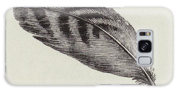 Decorative Galaxy Case - Feather by English School