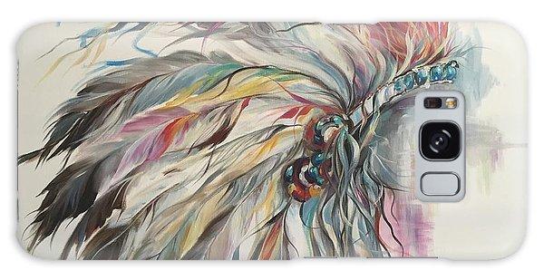 Feather Hawk Galaxy Case