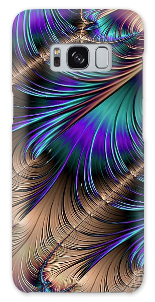 Feather Light Galaxy Case