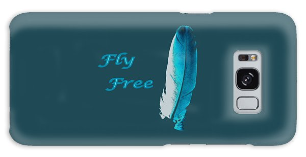 Feather Of Free Flight Galaxy Case