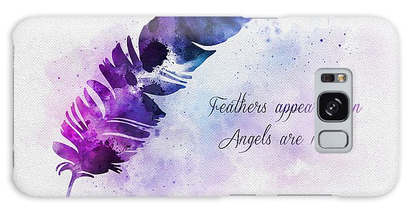 Angel Galaxy Case - Feathers Appear When Angels Are Near by My Inspiration