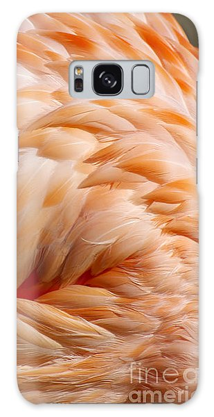 Feathers Of Pink Galaxy Case