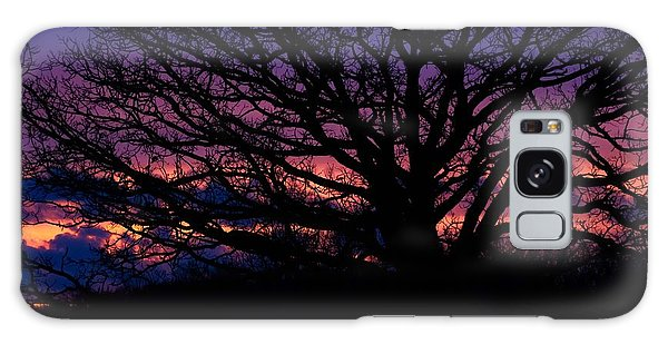 February Sunset Galaxy Case