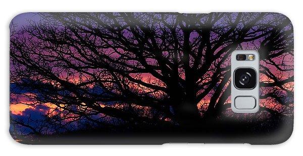 February Sunset Galaxy Case