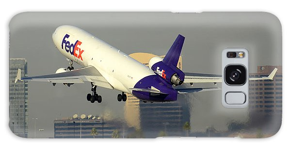 Fedex Express Mcdonnell-douglas Md-11f N631fe Phoenix Sky Harbor December 20 2015  Galaxy Case