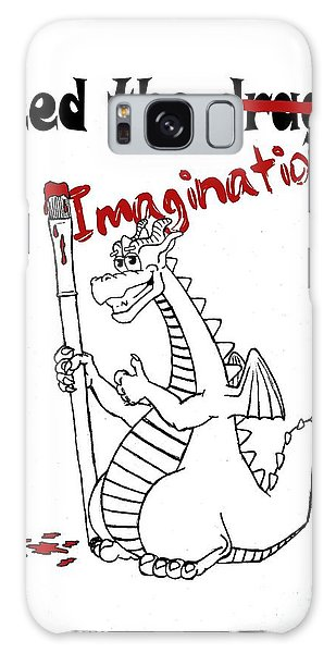 Feed The Imagination Galaxy Case