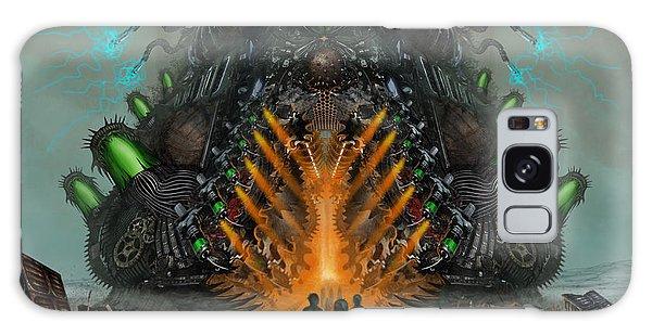 Feeding The Juggernaut Galaxy Case by Tony Koehl