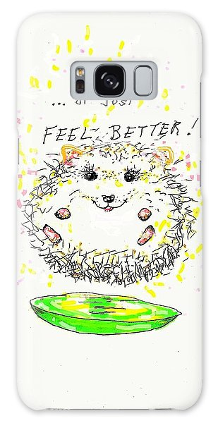 Feel Better Galaxy Case by Denise Fulmer