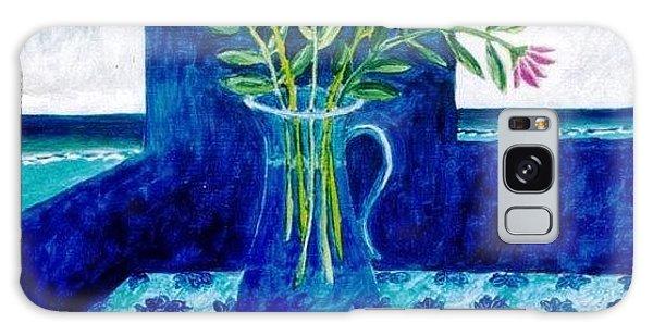 Feeling Blue Galaxy Case by Manny Chapa