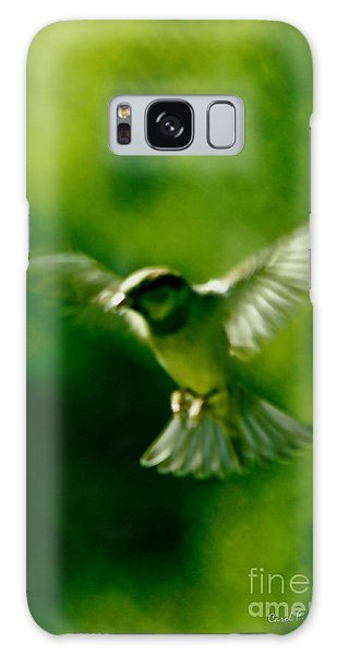Feeling Free As A Bird Wall Art Print Galaxy Case