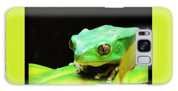 Feeling Froggy Galaxy Case