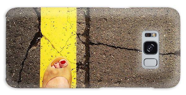 Feet Around The World #27 Galaxy Case