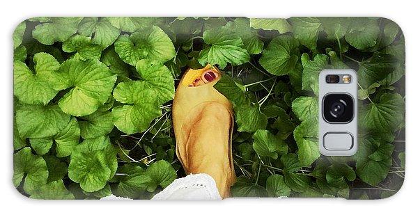 Feet Around The World #3 Galaxy Case