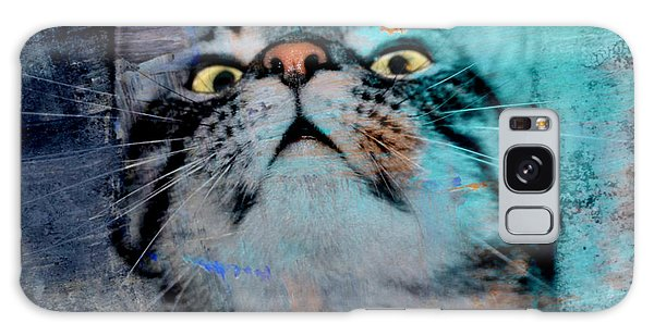 Feline Focus Galaxy Case