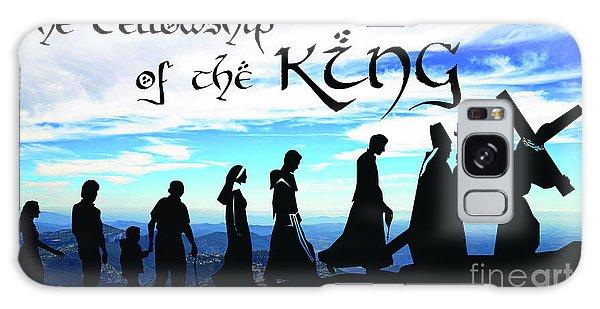 Fellowship Of The King Galaxy Case by Sharon Soberon